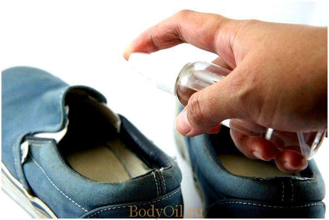 Как обработать обувь от грибка стопы