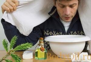 Ингаляция с пихтовым маслом